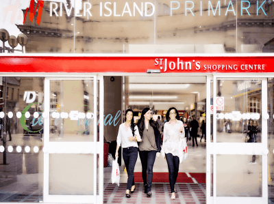 St Johns Shopping Centre Perth