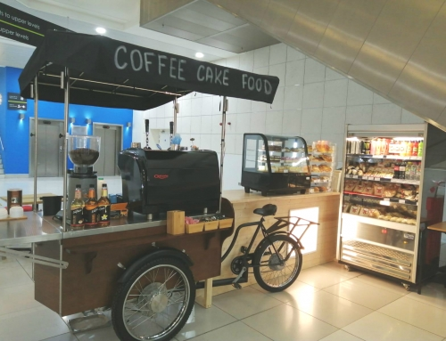 Space to Trade Introduces Coffee on the Bike to Chelmsley Wood Shopping Centre